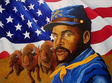 The Buffalo Soldier by William Roby