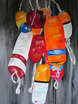 The Buoys by Susan Voidets