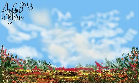 The Burning Land by Arjun L Sen