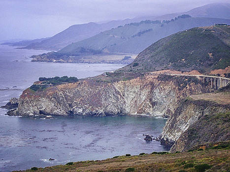 The California Coast by Tricia Marchlik