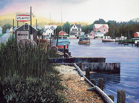 The Canal by Bill Hudson