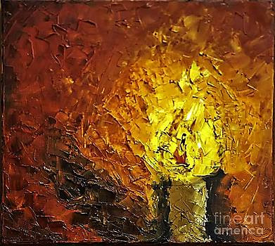 The candle by Olya Me