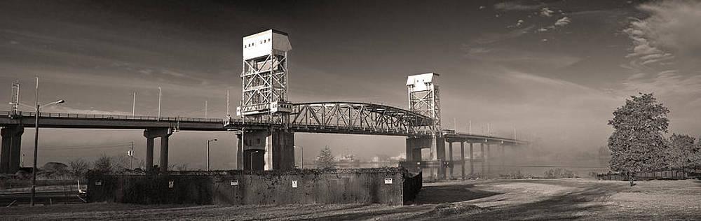 The Cape Fear Memorial Bridge by Chris Brehmer Photography
