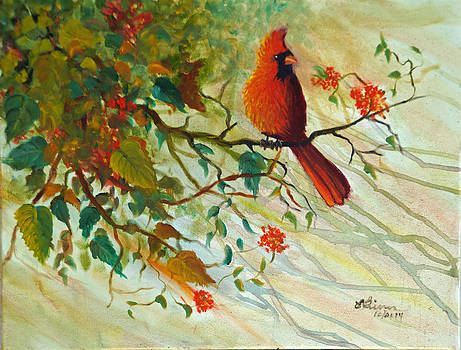 The Cardinal by Esther Rivas