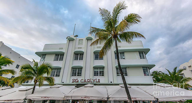 Ian Monk - The Carlyle South Beach Miami Panoramic - Art Deco District