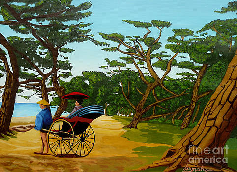 The carriage Ride by Anthony Dunphy