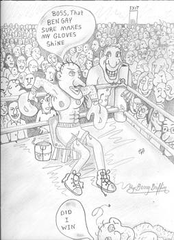 The Cartoon Boxer by Gerald Griffin