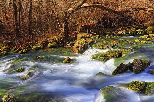 Jason Politte - The Cascades of Alley Spring - Missouri - Waterfall