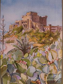 The Castle of Falconara by Gina Pardo