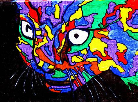 The Cat SOLD by Natasha  Rozhdestvensky
