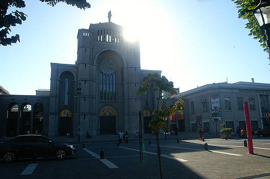The Cathedral of Concepcion-Chile by Thomas D McManus