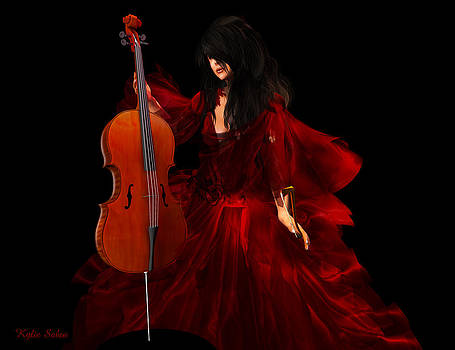 The Cellist by Kylie Sabra