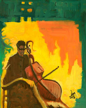 The Cellist by Robert Brooks