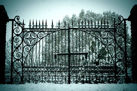 The Cemetery Gates by Kristy Creighton