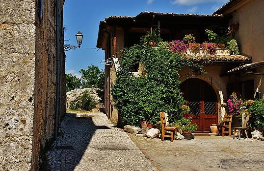 The Charming Patio by Dany Lison