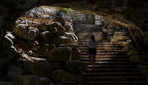 The Child Ascends II by Greg Reed
