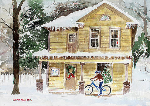 The Christmas Bike by Monte Toon