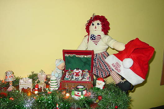 The Christmas Dolls And Their Music Box by Thomas D McManus