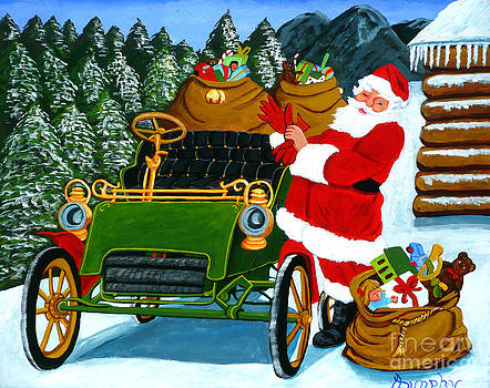 The Christmas Ride by Anthony Dunphy