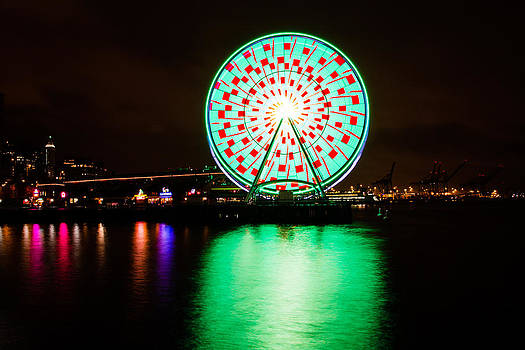 The Christmas  Wheel of Seattle v2.1 by Maik Tondeur