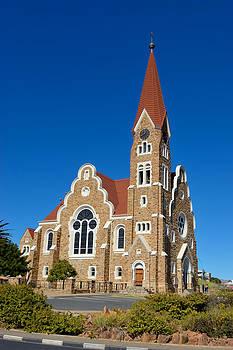 The Christuskirche in Windhoek in Namibia by Grobler Du Preez
