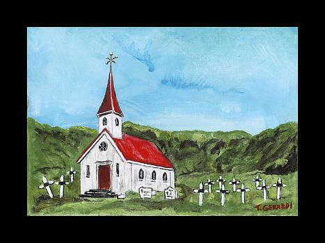 The Church at Vik by Anthony Gerardi