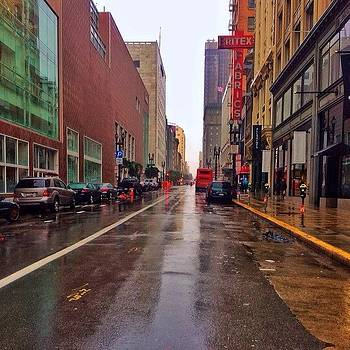 The City And Rain Makes For One Big by Karen Winokan