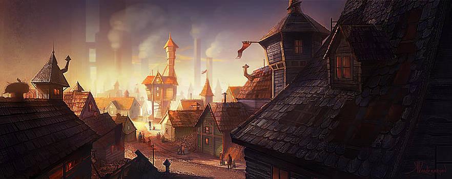 The City by Kristina Vardazaryan