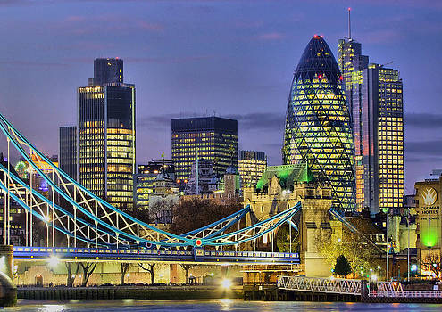 The City Of London by Colin J Williams Photography