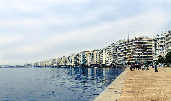 The city of Thessaloniki. by Slavica Koceva