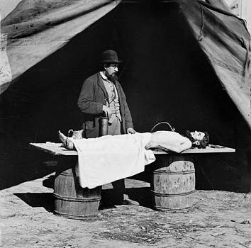 The Civil War, Embalming Surgeon by Everett
