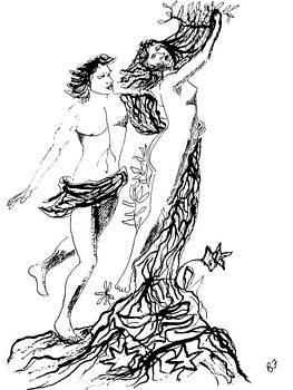 The Classics Bernini Apollo and Daphne by Allen Forrest
