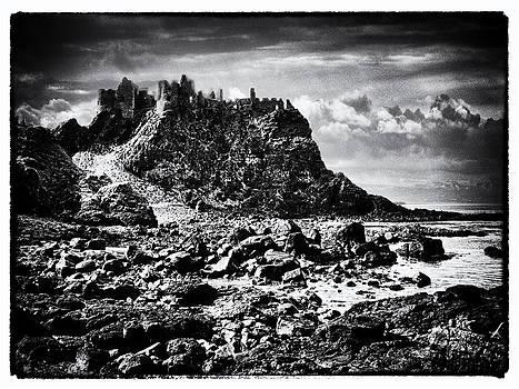 The Cliffs of Dunluce by Geoff McGrath