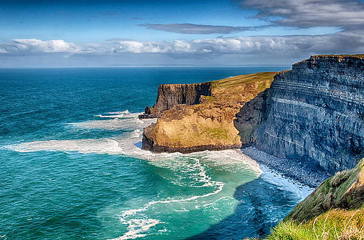 The Cliffs of Moher 4 - County Clare - Ireland by Bruce Friedman