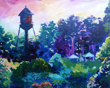 The Clifftop Watertower by Azhir Fine Art