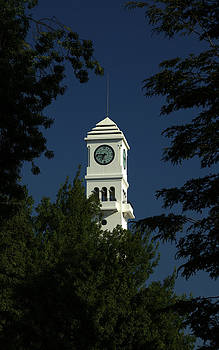 The Clock Tower at The University of Concepcion-Chile by Thomas D McManus