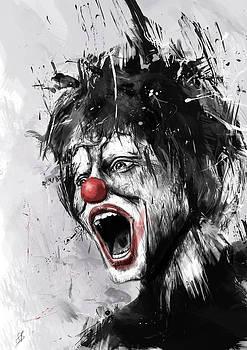 The Clown by Balazs Solti