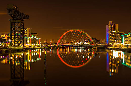 The Clyde Arc by Mike  Hardisty