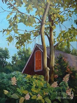 The Coach House Pennsylvania by Rita-Anne Piquet