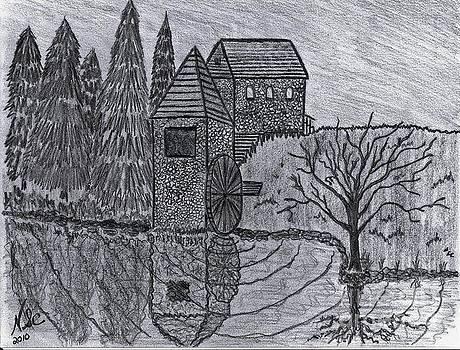 The Cobblestone Mill by Neil Stuart Coffey