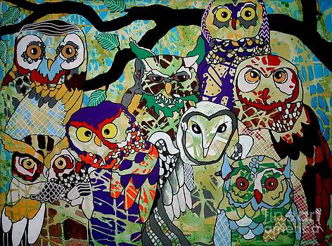 The Color of Owls by Amy Sorrell
