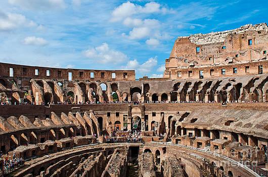 The Colosseum by Luis Alvarenga