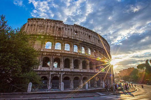 The Colosseum by Mircea Costina Photography