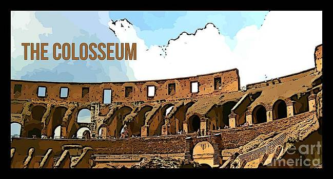 John Malone - The Colosseum Poster