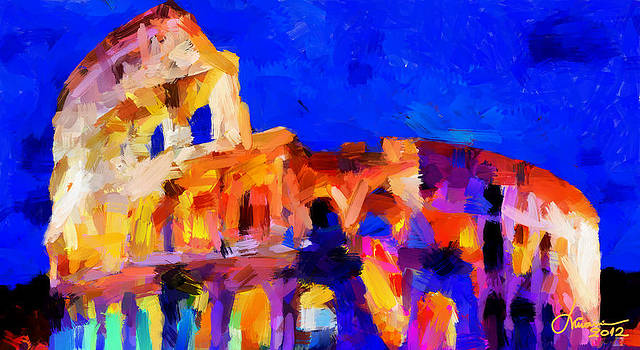 The Colosseum TNM by Vincent DiNovici