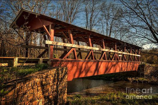 Lois Bryan - The Colvin Covered Bridge