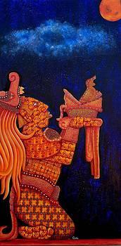 the coming of Venus  by Heriberto  Luna