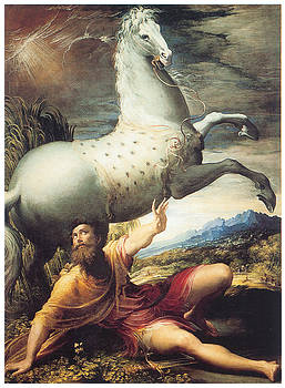 Parmigianino - The Conversion of Paul