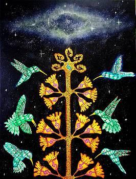 The Cosmic Journey Of Magu  by Heriberto  Luna