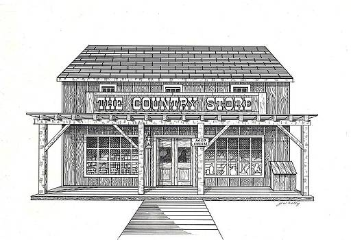 The Country Store by J W Kelly